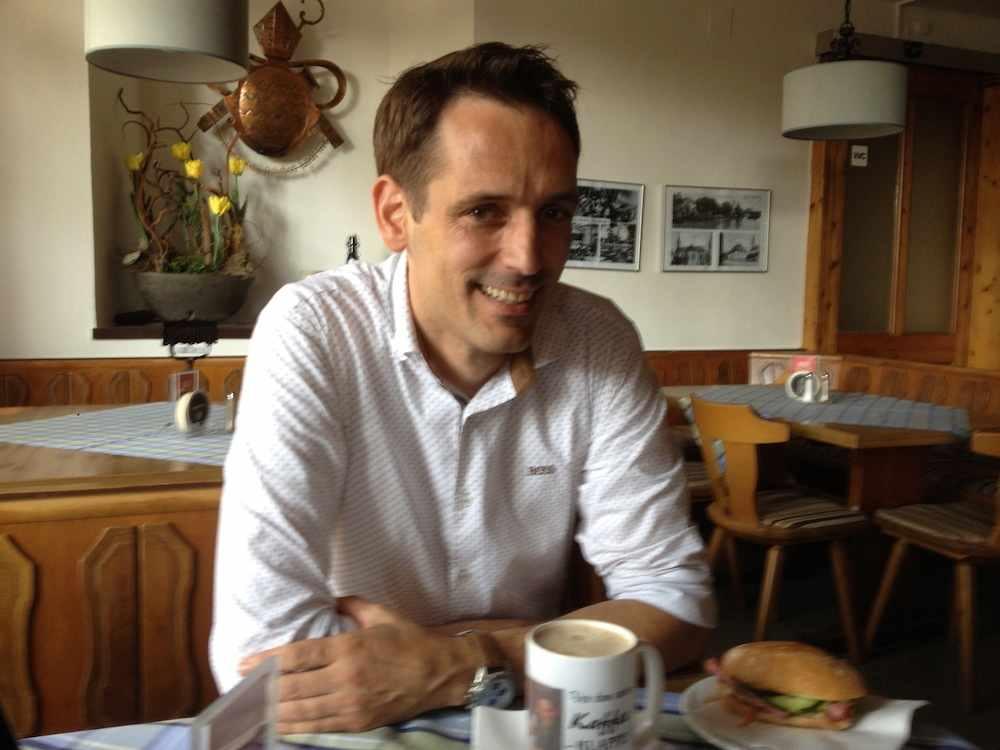 Anton Sperger Wirt vom Spitalgarten in Regensburg