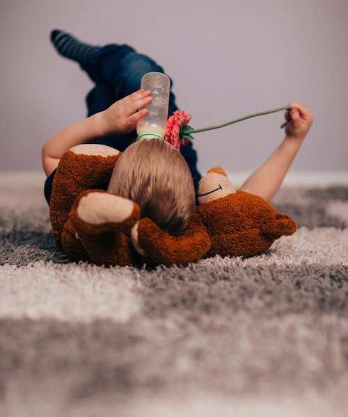 Immer saubere Teppiche