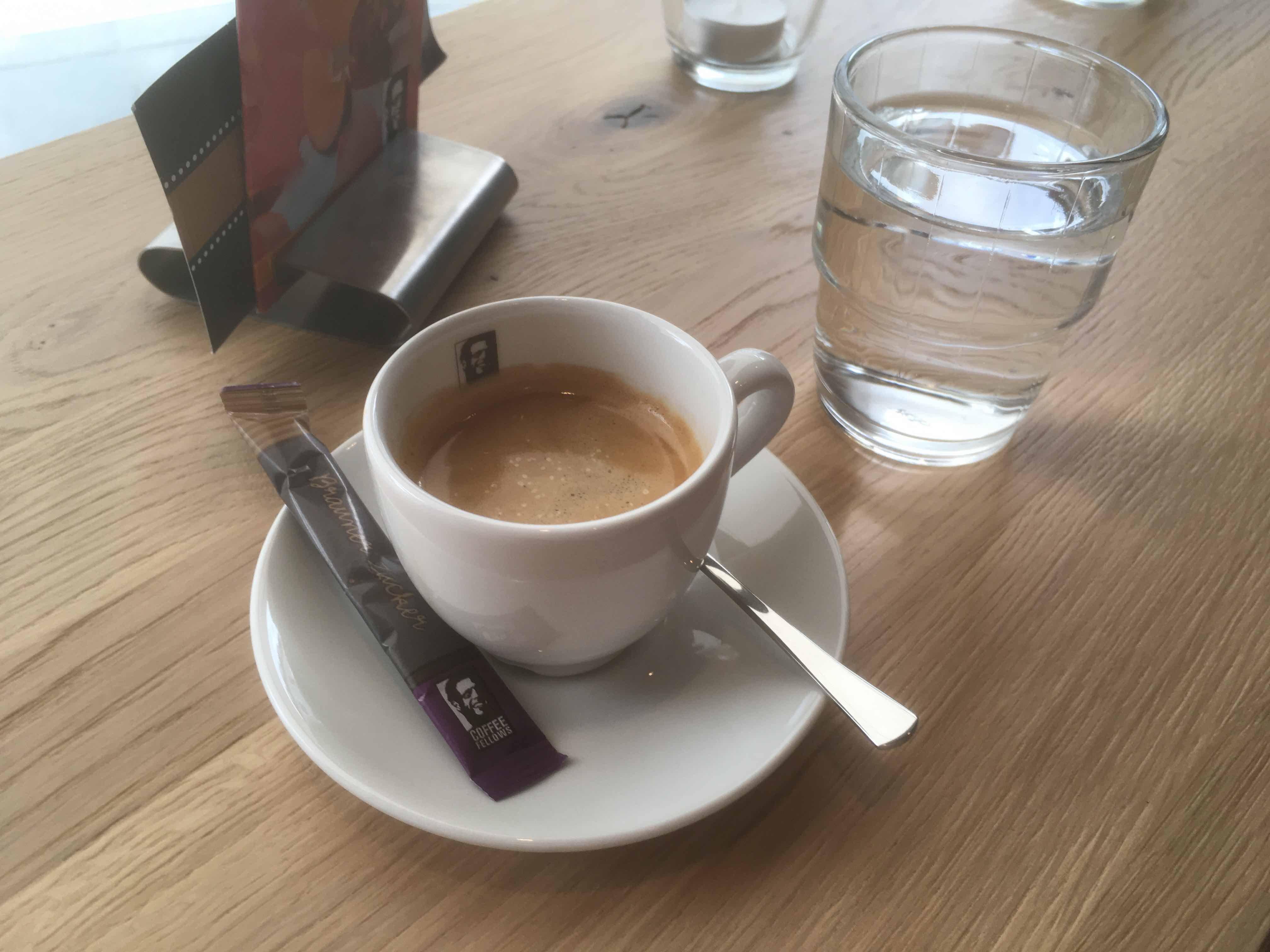 Espresso in Regensburg