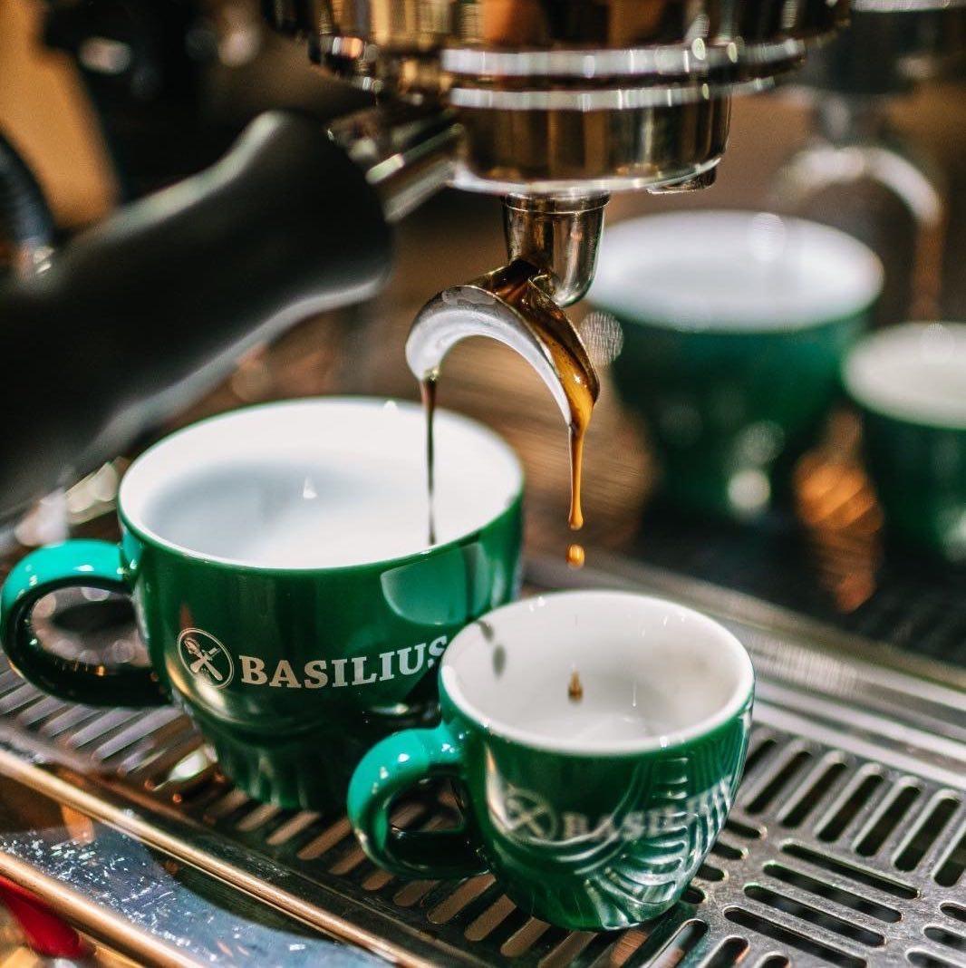 Einladung zu einem Espresso