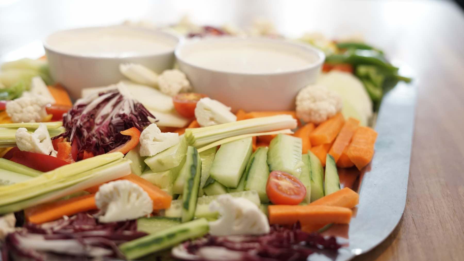 Gemüseplatte Mainz Catering