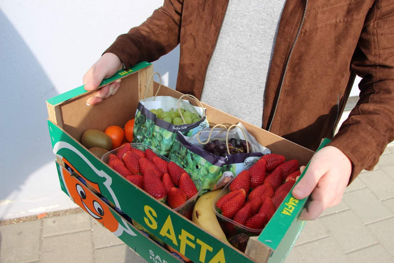 Persönliche Lieferung in Mainz, direkt und frisch vom Markt