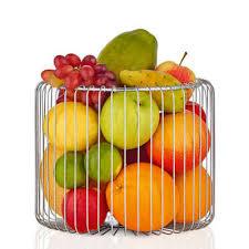 Dekorativer Obstkorb fürs Büro und zuhause