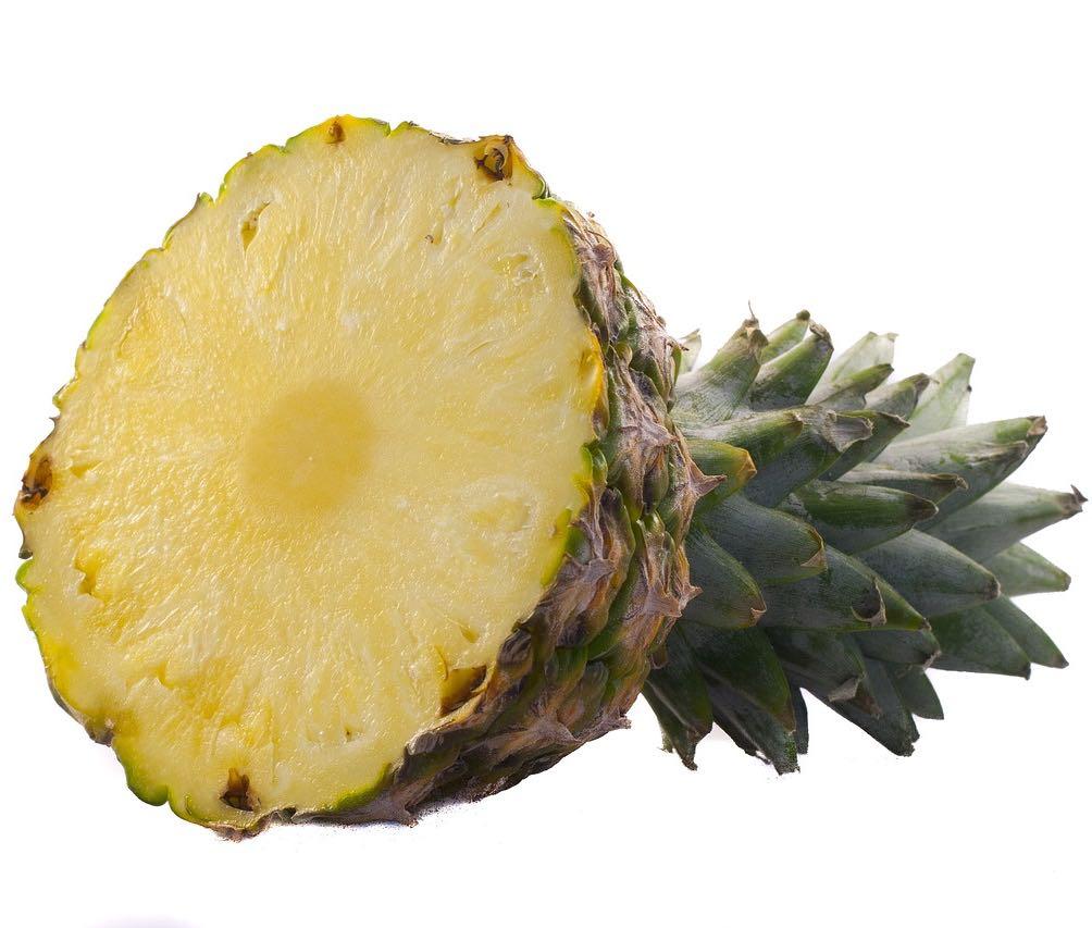 Obstkorb: Ananas