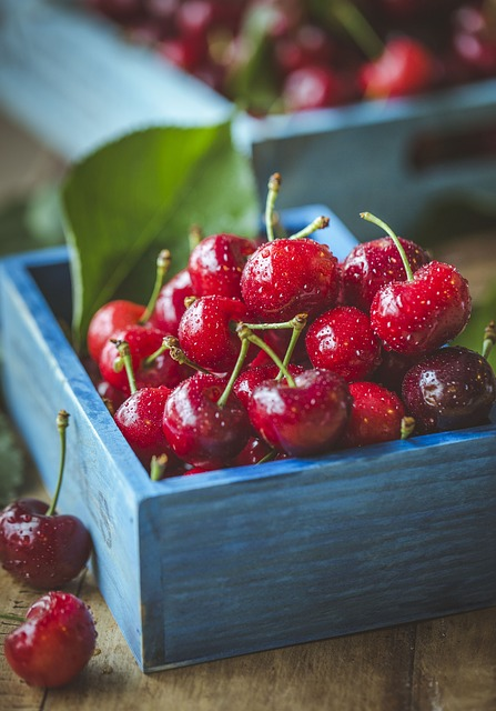gesund und lecker ob süß oder sauer: Kirschen