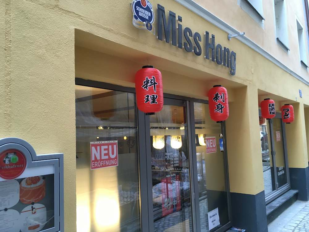 Aussenansicht Miss Hong Sushi And Soul Food