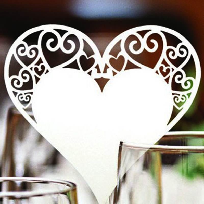Tischkarte für's Heiraten in Aachen