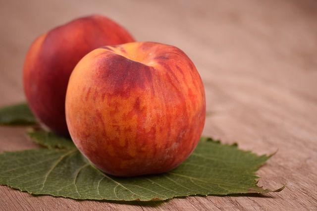 Pfirsiche: saftig gesund, und lecker